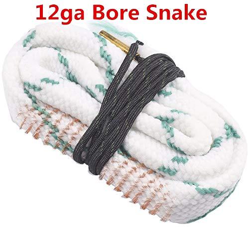 WQ-Zubehör, Pistolenreinigung 12 Gauge Bore Snake Shotgun Reiniger 12 für Gauge 12GA 12ga Boresnake Jagd Caza - Snake Bore Shotgun