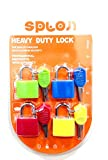 #8: Celebration Gift SPLON TRI-CIRCUS 20 mm Multi color Luggage Lock (Pack of 4)