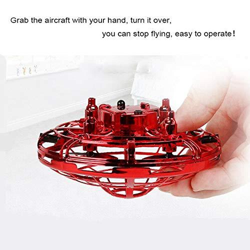 creatspaceDE UFO Hand Fliegen UFO-Induktions-Suspension RC Flugzeuge Drone Spielzeug Geschenk Sensing und Lichter Farbe: blau -