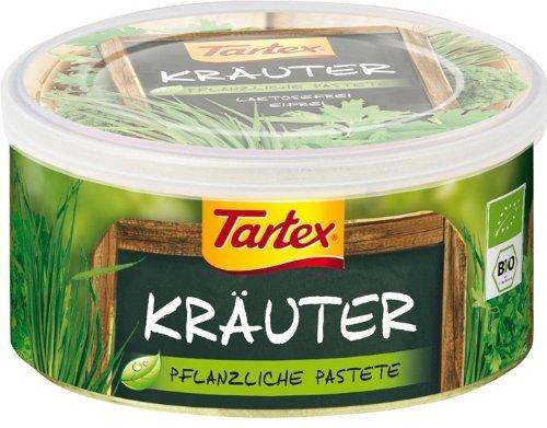 Tartex Bio Rein pflanzliche Pastete Kräuter (1 x 125 gr)
