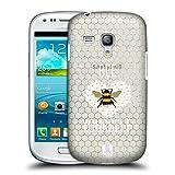 Head Case Designs Bienenwabe Bienen Ruckseite Hülle für Samsung Galaxy S3 III Mini