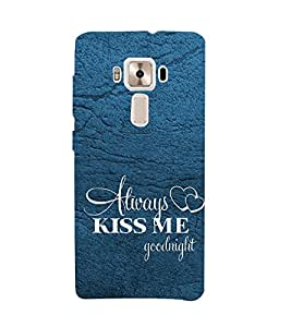 PrintVisa Designer Back Case Cover for Asus Zenfone 3 Deluxe ZS570KL (5.7 Inches) (Love Defining Quote)