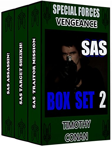 SPECIAL FORCES VENGEANCE - SAS BOX SET 2 (SAS BOX SETS)