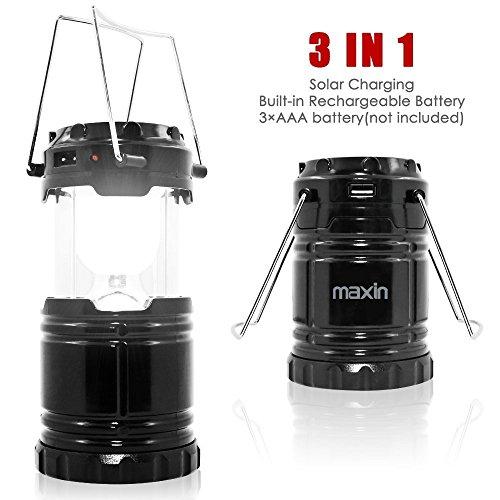 Ultra luminoso di campeggio Lanterna con batterie ricaricabili, resistente di