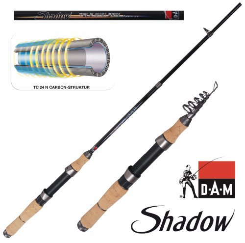 DAM Shadow Tele Mini Spin 15 2,10m 6-tlg 5-15g 2184210 Reiserute
