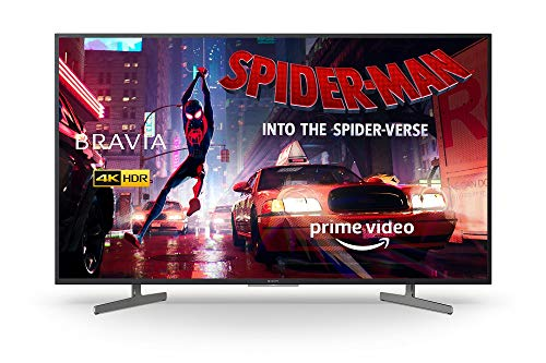 Sony BRAVIA KD49XG81 49-inch LED 4K HDR Ultra HD Smart Android TV with voice remote - Black (2019 model)