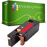 Compatible Cartucho de tóner para Dell 1250c 1350cn 1350cnw 1355cn 1355cnw C1760nw C1765nf C1765nfw C17XX - Magenta, Alta Capacidad