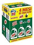 AVA Power Gel Detersivo, 3 Pezzi - 5850 ml