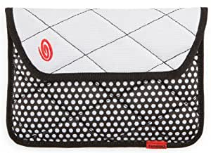 Timbuk2 Plush Sleeve Case for 7-Inch Tablets with Memory Foam for Impact Absorption, BW Polka Dots/White