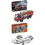 Lego Technic 42068 - Flughafen Löschfahrzeug + Power Functions Tuning-Set