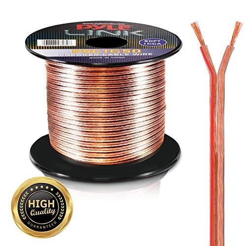 Pyle PSC1850 Lautsprecherkabel (hochwertig, AWG 18, 15 m) Awg 50 Spool
