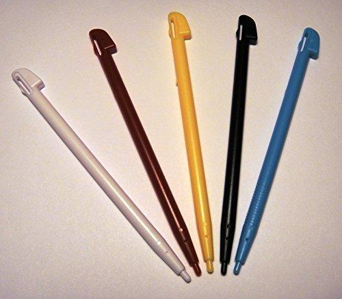 Stylus Stifte für Nintendo WII U Spiel Konsole Touch Pen Set von 5Farbe Stifte, mit Primetime Schlüssel Kette