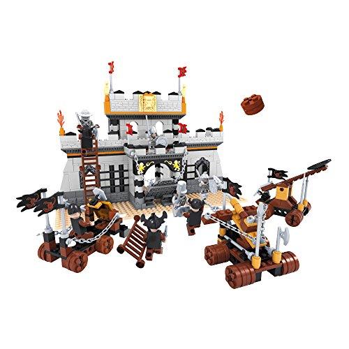 Ausini - Juego de construcción Castillo & carros de guerra - 656 piezas (ColorBaby 44352)