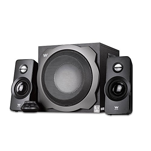 Woxter Big Bass 260 S - Altavoces multimedia (2.1, potencia 150W, 90- 20000 Hz), color plateado