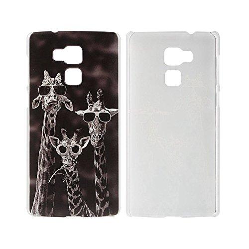 Guran® Plastique Dur Étui Cover pour Vernee Apollo Lite Smartphone Coque de Protection - Girafe