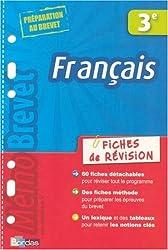 MEMOBREVET FICH REVI FRANC 3E