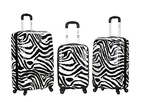 Rockland, Unisex-Erwachsene Gepäck-Set, F195-ZEBRA (Rockland Zebra)