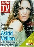 Telecharger Livres TV Magazine Ouest France n 16565 30 04 1999 Astrid Veillon Patrice Laffont Patricia Kaas (PDF,EPUB,MOBI) gratuits en Francaise