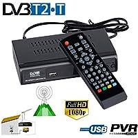 Lâ Vestmon HD TV Box 1080P Convertidor DVB T2radiodifusión Digital terrestre Receptor Youtube