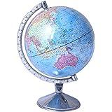 Political World Globe/Political Student World Globe/Educational Globe 8'' inch, Steel Arc and Base