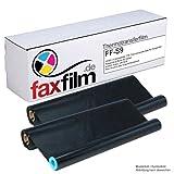FAXFILM 2 x kompatibler Inkfilm für SHARP UX 9 CR / UX 92CR passend für Sharp FO-P 510 / UX-A 160 / UX-A 410 / UX-A 460 / UX-A 470 / UX-D 50 / UX-D 50 T / UX-P 430 / UX-P 450 / UX-P 460 / UX-P 430 DE u.a.