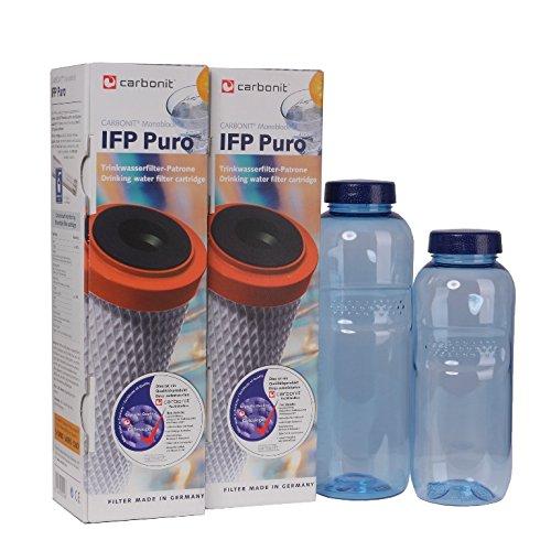 IFP-Puro Carbonit Paket 21 - GRATIS: 2 TRITAN-Flaschen - frei von Bisphenol-A