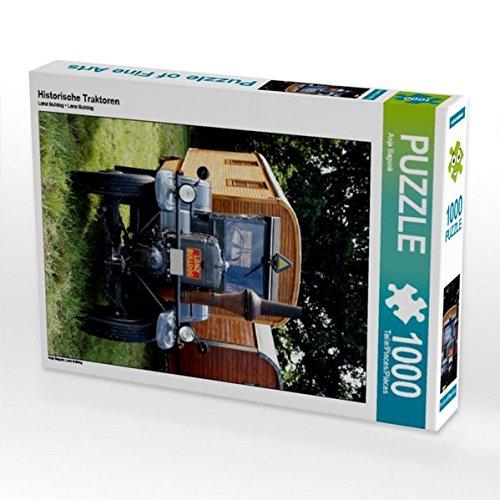 Historische Traktoren 1000 Teile Puzzle hoch: Lanz Bulldog (CALVENDO Mobilitaet)