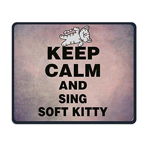 keep-calm-and-sing-suave-kitty-raton-de-ordenador-pad