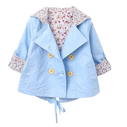 Mantel-fr-Jungen-MdchenBaumwolle-Winterjacke-Kinder-Jacke-Mdchen-Herbst-Outerwear-Einreihig-Trenchcoat