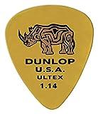 Jim Dunlop Ultex Sharp Picks 6-Pack1.14mm