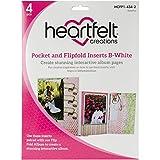 Heartfelt Creations Tasche und flip-fold fügt, mehrfarbig, 24,13x 17.78x 0,88cm