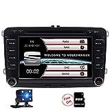 FoIIoE 2Din 17,8cm Auto DVD Radio Player Seat/Altea/Leon/Ibiza/Altea XL/VW/Passat B6/Skoda in Dash GPS Navigator Auto Radio