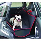 Antom Heavy Duty universel étanche 2en 1Coffre de protection pour siège arrière de voiture arrière pour animal domestique Chat Chien Tapis de Coque