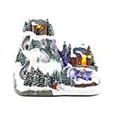 Weihnachten, Weihnachtsdeko, Winterlandschaft | knuellermarkt.de | Winter, LED, Miniatur, Schnee, Weihnachtsdorf, Geschenk, Beleuchtung, mit Funktion