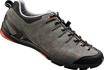 Shimano Sh-Ct80, Men Road Biking Shoes, Grey (Grey/Orange), 5 UK (39 EU)