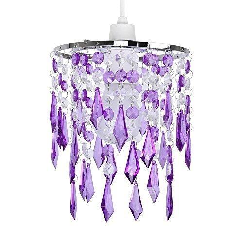 minisun-lustre-avec-perle-et-pendeloques-en-acrylique-motif-gouttelettes-violet-transparent