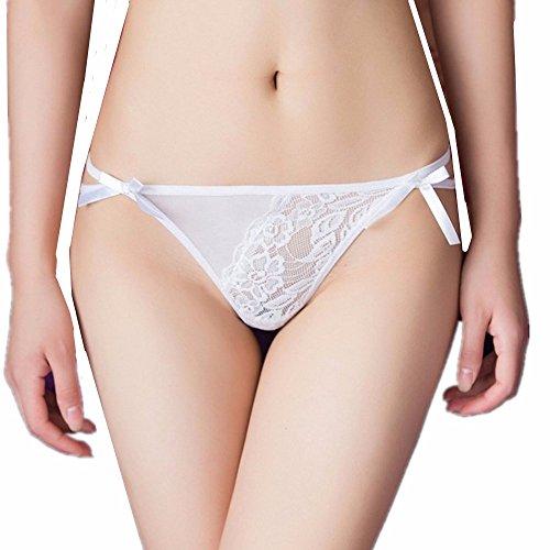 VLIMG Spitze sexy Hosen weiblich, weiß (Spitze Lounge-hose)