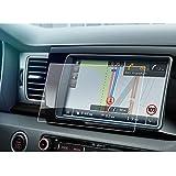 Kia Accessoires,LFOTPP Navigation Protection d'écran pour Kia Niro 8 pouces - Système de Navigation Film Protection en Verre Trempé - 9H Anti-rayures (Kia Niro)