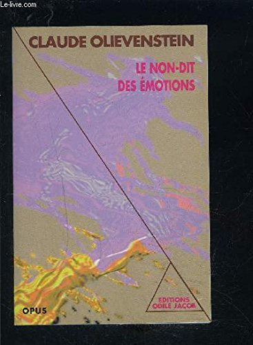Le non-dit des emotions