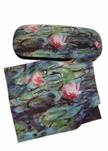 artis-vivendi-twin-occhiali-custodia-e-panno-di-pulizia-monet-water-lilies