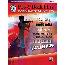 Pop & Rock Hits Instrumental Solos for Strings: Cello, Book & CD (Alfred's Instrumental Play-Along) (Pop Instrumental Solo Series)