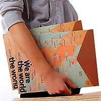 Global Brands Online Papelería asignación de estilos mundial del vintage bolsa de carpeta de papel