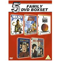 Ice Age/Chicken Run/Home Alone/Mrs Doubtfire/James and the..