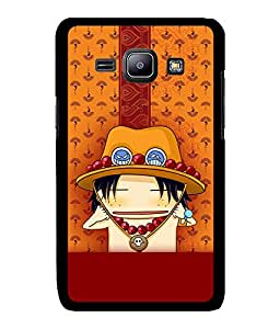 Fuson 2D Printed Cartoon Designer back case cover for Samsung Galaxy J1 - D4288