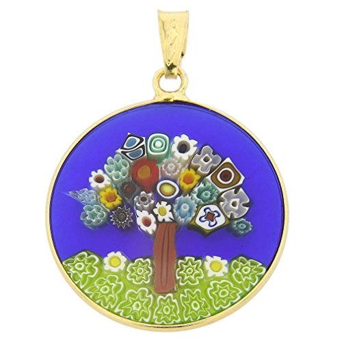 GlassOfVenice Damen Tree of Life In Gold-Plated Frame 7 /