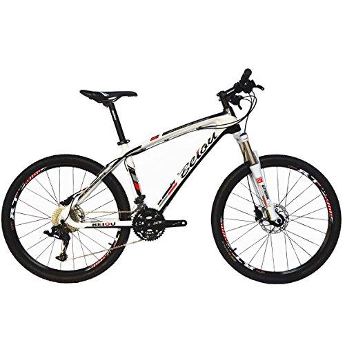 """BEIOU de fibra de carbono de bicicletas de montaña MTB Rígidas LTWOO 30 26"""" 13 kg Velocidad externo del cable profesional de enrutamiento T700 de Toray CB083"""