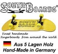 Komplett Fingerskateboard GE/SWZ/GE SOUTHBOARDS® Handmade Wood Fingerboard Echtholz
