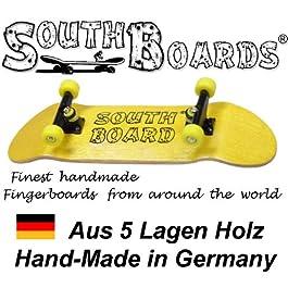 Unbekannt Skateboard Completo Finger GE/sez/GE South Boards® Hand Made Wood Finger Board in Vero Legno