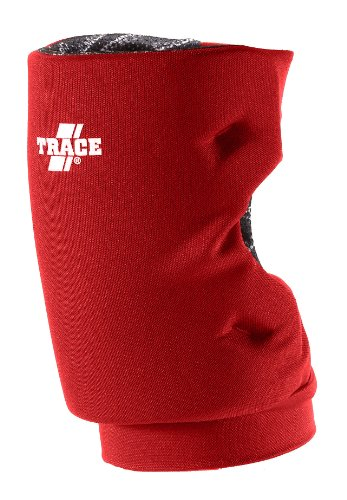 Adams USA TRACE kurz Stil Softball Knee Guard, scharlachrot (Pad Keyhole)