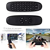 MSE Mini Air Mouse Wireless Game Keyboard Android Remote Controller Rechargeable 2.4Ghz Keyboard For Smart Tv Mini PC Bluetooth Laptop Keyboard (Black)(Pack Of 1 Set)